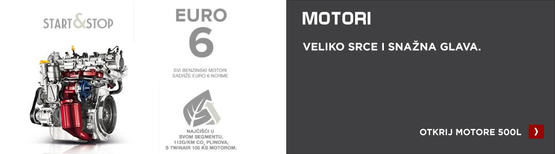 Fiat 500L motori