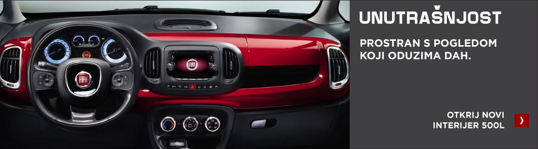 Fiat 500L unutrašnjost