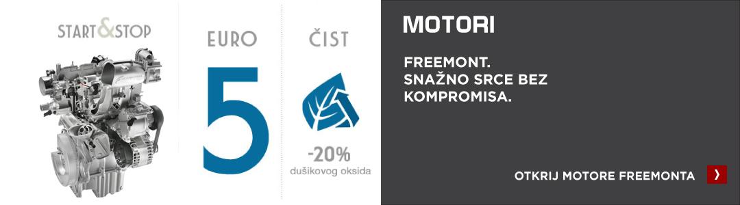 Fiat Freemont motori