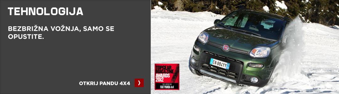 Fiat Panda 4x4 tehnologija