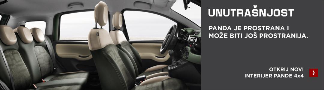 Fiat Panda 4x4 unutrašnjost