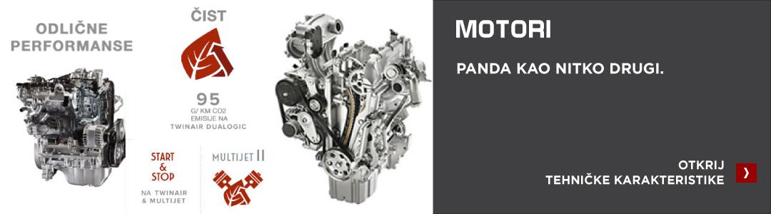 Fiat Panda motori