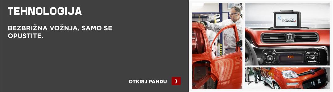 Fiat Panda tehnologija