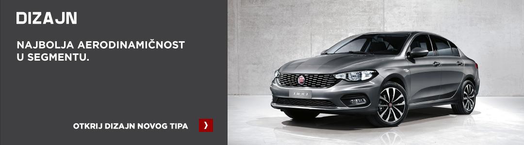 Fiat Tipo dizajn