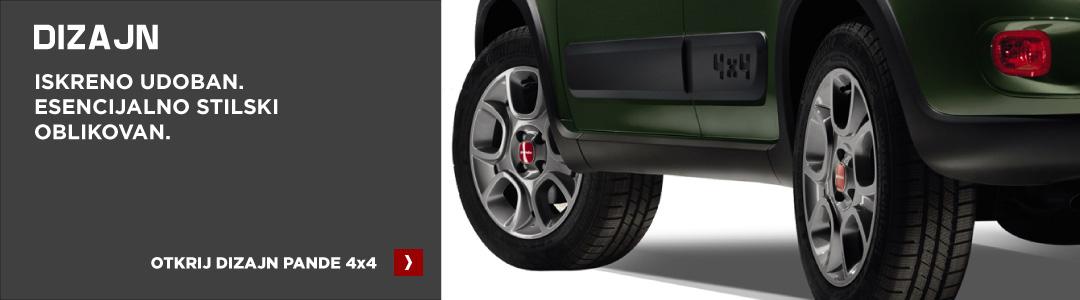 Fiat Panda 4x4 dizajn